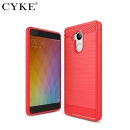 Wholesale Phone 4s Case - Carbon Fiber Case for Xiaomi Redmi Pro Note 4 4X 3 3S 3Pro Prime 4A 4S 4X Cover Soft TPU Mobile Phone Bags
