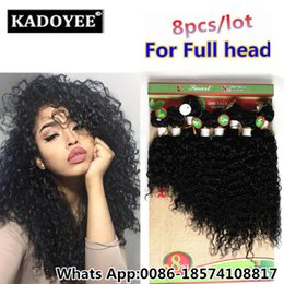 Wholesale Afro Curly Hair For Weaving - Natural Human Afro Kinky Curly hair 8 Pcs lot Brazilian Kinky Curly hair Brazillian Human curly Weave Bundles for women