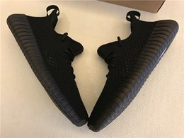 Wholesale Mens Winter Boots Size 12 - 350 Boost V2 Triple Cream White All Black Hollow Mens Shoes DA9572 Dark Green Hollow Sneakers Size 5-12