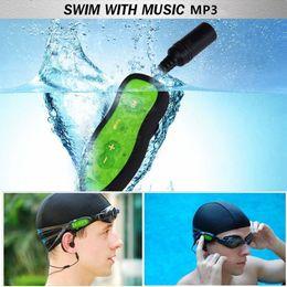 Wholesale Chip Speaker - Wholesale- Swim MP3 Player Waterproof 2016 NEW Swim Headphones MP3 Player Music Media Players Diving Water Chip Sport MP3 Player