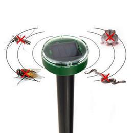 Wholesale Solar Snake Repeller - useful Solar Power Ultrasonic Gopher Mole Snake Mouse MouseTrap Pest Reject Repeller Control for Garden & Yard S2017126