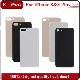 (100% Original) Pas de copie ~ !!! Pour iPhone8 8 Plus, couvercle du logement de la vitre arrière du couvercle du compartiment de la batterie avec remplacement de l'adhésif adhésif DHL gratuit ? partir de fabricateur