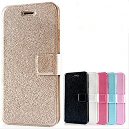 Wholesale Iphone 5c Flip Case Cover - Wallet PU Leather Case Silk Pattern Flip Cases With Credit Card Stand Holder Back Cover For iPhone X 8 7 plus 6 6s plus 5s se 5c