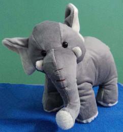 Wholesale Elephant Stuff Doll - Elephant Toy -30*24cm Stuffed Animals Cushion Plush Doll Toys Plush Doll Gift