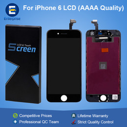 Wholesale Lcd Touch Screen Price - Factory Price AAAA High Quality For iphone 6 6G 4.7 inch Full LCD Display Screen Digitizer Touch Panel Assembly With Frame Lifetime Warranty