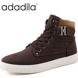 Wholesale Suede Style Boots - Wholesale- Fashion Breathable Keep Warm Winter Boots Round Toe Lace Up Men Casual Shoes Handsome Ankle Boots Student Style Botas Hombre
