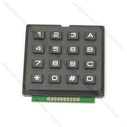 Wholesale 4x4 Matrix - Wholesale- 4x4 Matrix Keyboard Keypad Use Key PIC AVR Stamp Sml