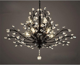 Chandilers Lámparas colgantes Cristal de cristal Luces LED Moderno Moderno Lámpara de techo Lámpara de techo para la cocina Comedor Sala de estar desde fabricantes