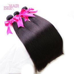 Wholesale Weave Suppliers - Brazilian Straight Virgin Hair Weave 4pcs Lot Best 8A Brazilian Straight Hair Bundles Brazilian Weave Suppliers Human Hair Extensions Weft