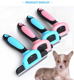 Wholesale Plastic Attachments - Combs Dog Hair Remover Cat Brush Grooming Tools Pet Supply Furmins Detachable Clipper Attachment Pet Trimmer Combs for Cat Dog
