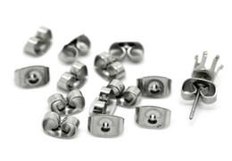 Supporto per orecchini farfalla in acciaio inox tono argento, tappi per orecchini posteriori, fermi per orecchini in acciaio inox 200 pezzi da adulti giocattoli orali di sesso fornitori