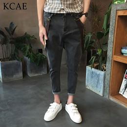 Wholesale Designer Jumpsuit - Wholesale- 2016 New Summer Dress Designer Men Pants Trousers Casual Mens Overalls Fashion Jumpsuit Size M-XXL Free