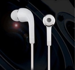 Wholesale Tuning Wholesale - S4 Earphone Subwoofer wire tuning headphones 3.5 mm Flat Wire Headset for Samsung S4 S6