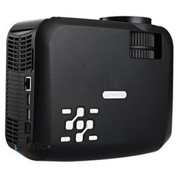 Wholesale Dlan Hdmi - Wholesale-2200lumens Mini portable projector proyector beamer LED LCD android 4.4 wifi 1280 x 800 Support DLAN Airplay Sync with Phone PC
