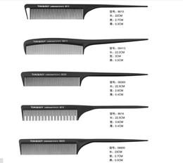 Canada 9 pcs Professionnel Peignes Kits Salon Barber Peigne Brosses Anti-statique Brosse À Cheveux Soins Des Cheveux Styling Outils Ensemble kit pour Salo De Cheveux cheap tool kit anti static Offre