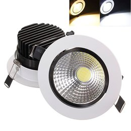 Wholesale Down Lights Kit - 15W COB LED Non-dimmable Recessed Ceiling Light Fixture Down Light Kit 60 Degree Deam Angle Adjustable LED_311
