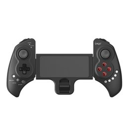 Wholesale remote pc iphone - IPEGA PG-9023 Joystick Gaming Remote Controller Wireless Bluetooth Gamepads Game Controller For iPhone Android Phone PC Tablet Max 10inch