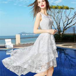 Wholesale Xs Pleated Maxi Dress - Women sexy dresses turtleneck collar sleeveless organza vest skirt dress before short after long casual dress
