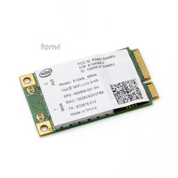 Wholesale Pci Card Wireless - Wholesale- New Dual band Laptop Wlan For Intel 512AN_MMW WiFi Link 5100 300Mbps 802.11a g n Wireless WiFi Mini PCI-E Card 2.4Ghz 5Ghz
