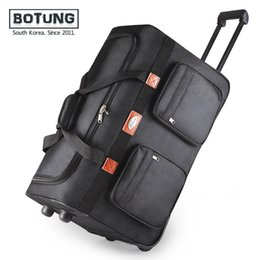 Wholesale Suitcase Rolling Luggage - Empty checked bags move abroad study abroad portable laptop bags luggage bag