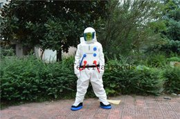 Wholesale Astronaut Costume Adult - Astronaut mascot costume high quality fancy dress adult size party Halloween,christmas party clothing