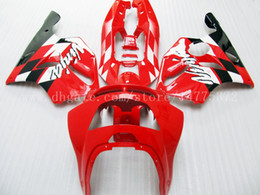 1995 kawasaki ninja online-Carenados de alta calidad para Kawasaki NINJA ZX 6R 94 95 96 97 ZX-6R 94-97 ZX6R 1994-1997 636 ZX636 1994 1995 1996 1997 kit de carenado # b2837 Rojo