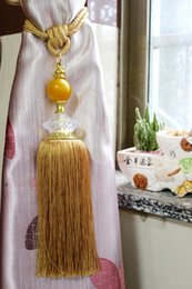 Wholesale Curtain Rods Tracks Accessories - Home Textile, Decorative, Curtain, Car, Garment &Cellphone Use and Fringe Type Tassel Tie Back