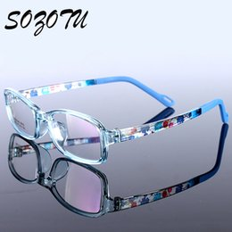 Wholesale Spectacles Frames Wholesale Kids - Wholesale- Children Spectacle Frame Student TR90 Myopia Prescription Eyeglasses Optical Kids Glasses Frame For Infant Baby Boys&Girls YQ130