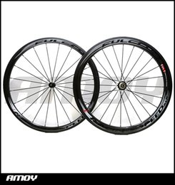 Wholesale China Roads - Best selling 3K Weave Flcrum 50mm carbon wheels Made in China carbon alloy wheels glossy matte bike wheelset clincher Free shipping
