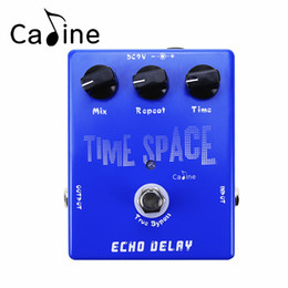 Wholesale Digital Reverb - Caline CP-17 Electric Guitar Digital Delay Effect Pedal 600ms Max True Bypass Musical Instrument Guitarra Effectors