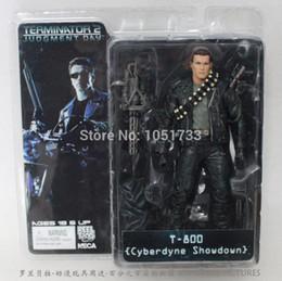 """Wholesale Neca Endoskeleton - NECA The Terminator 2 Action T-800 ENDOSKELETON Classic 7""""18cm 7Styles toy"""