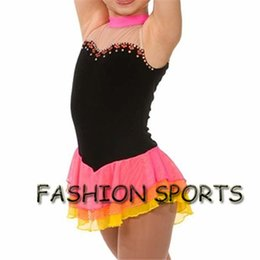 Wholesale Ice Skating Dresses For Girls - Custom Figure Ice Skating Dresses New Brand Skating Dress For Competition HB2918