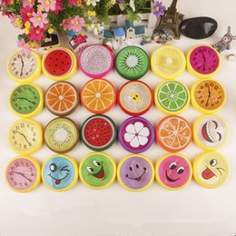Wholesale Fruit Crystals - Fruit Crystal Slime Mud Hand Putty play Clay No Smell Nontoxic Stress Reliever Kids Toy Gift