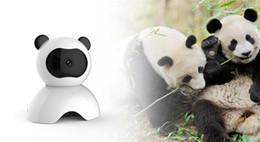 Wholesale High Quality Baby Monitor Wireless - High Quality CCTV Surveillance Security Mini Cameras Panda WIFI HD Camera Audio Record Surveillance Wireless Baby Monitor