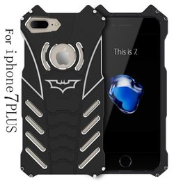 Wholesale Iphone Case Series - BATMAN Series Luxury Doom Heavy Duty Armor Metal Aluminum Mobile Phone Cases For apple iPhone 7 5 5S 6 6S PLUS Bags