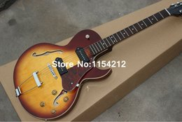 Wholesale Electric Guitar Red - Wholesale- NEW 1946-1949 ES-125 Archtop Guitar, Sunburst ES125 Electric Guitar