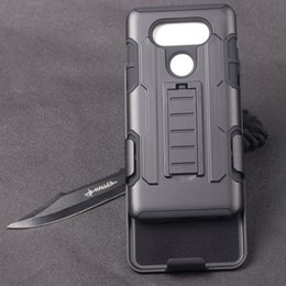 Wholesale Future Covers - Future Armor Rugged Defender Holster Hybrid Kickstand Case For LG G5 V20 Cover Belt Clip Shockproof