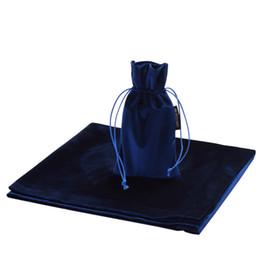 Argentina Altar Tarot Table Cloth Bag Decor Tarjetas de adivinación Wicca Cloth Drawstring Pouch New Purple / Blue / Black cheap yiwu clothes Suministro