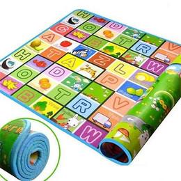 Wholesale Baby Bass - Wholesale- Baby Kid Toddler Crawl Foam Soft Play Game Mat Carpet Carpet Activity Xmas Gift