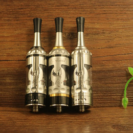 Wholesale Ego Rebuildable - Phoenix Fire Bird RTA Electronic cigarette 316 Stainless Steel RBA rebuildable dripping atomizer Vape tank ego 510 MTL smoke Vaporizer