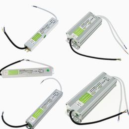 Wholesale Led Lights For Underwater - High Quality 12V Led Power Supply 10-250W Transformer Led Driver Adapter AC 90V-250V Waterproof Transformer For Underwater Light