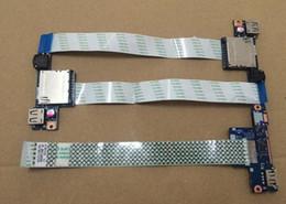 Wholesale 45 Usb Cable - Original Audio Card Reader USB Board With Cable For LENOVO G40-30 G40-45 G40-70 Z40-70 G50 Z50 G50-30 G50-70 G50-80 NS-A275
