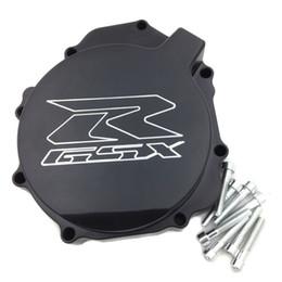 Wholesale Engine For Suzuki - Black Motorcycle Engine Crank Case Stator Cover For Suzuki GSXR1000 2005-2008