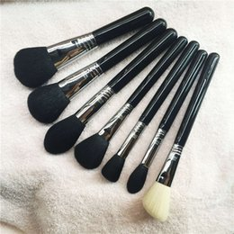 Wholesale Black Highlights - F05 F10 F20 F25 F30 F35 F40 F65 F80 Face Powder Blush Contour Highlight Concealer Kabuki Brushes - Beauty Makeup Brushes Blender