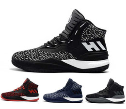 Wholesale Basketball D Rose - 2018 new arrivel DERRICK ROSE'S D ROSE 8 SIGNATURE knit ultra boost for Men Basketball Shoes All Star Basketball Sneakers Size 7-11.5
