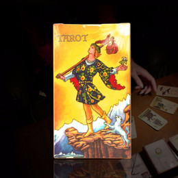 Wholesale Quality Board Games - Wholesale- 3 style tarot cards English version best quality board game playing cards for party family cards game