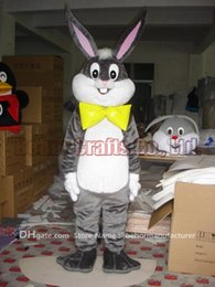 Wholesale High Quality Rabbit Costume - Easter bunny mascot costume free shipping,high quality cheap plush Easter rabbit mascot cartoon set adult type,we accept customized.