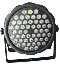 Wholesale Case Changes Light Color - LOW COST DJ DISCO LIGHT DMX LED PAR LIGHTS RGBW 54x 3W PARTY STAGE EFFECT COLORFUL BEAM PLASTIC CASE