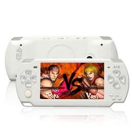 Wholesale Free Video Arcade - X6 Portable Handheld Game Console 8G 4.3 Inch Mp4 Player Video Game Console Free Games Ebook Camera Recording Gaming Consoles