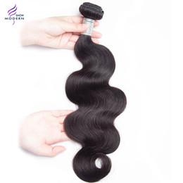 Wholesale Malaysain Hair - Unprocessed Modern Show Hair 4 Bundles Malaysain Body Wave Human Hair Bundles Malaysian Virgin Hair Bundle